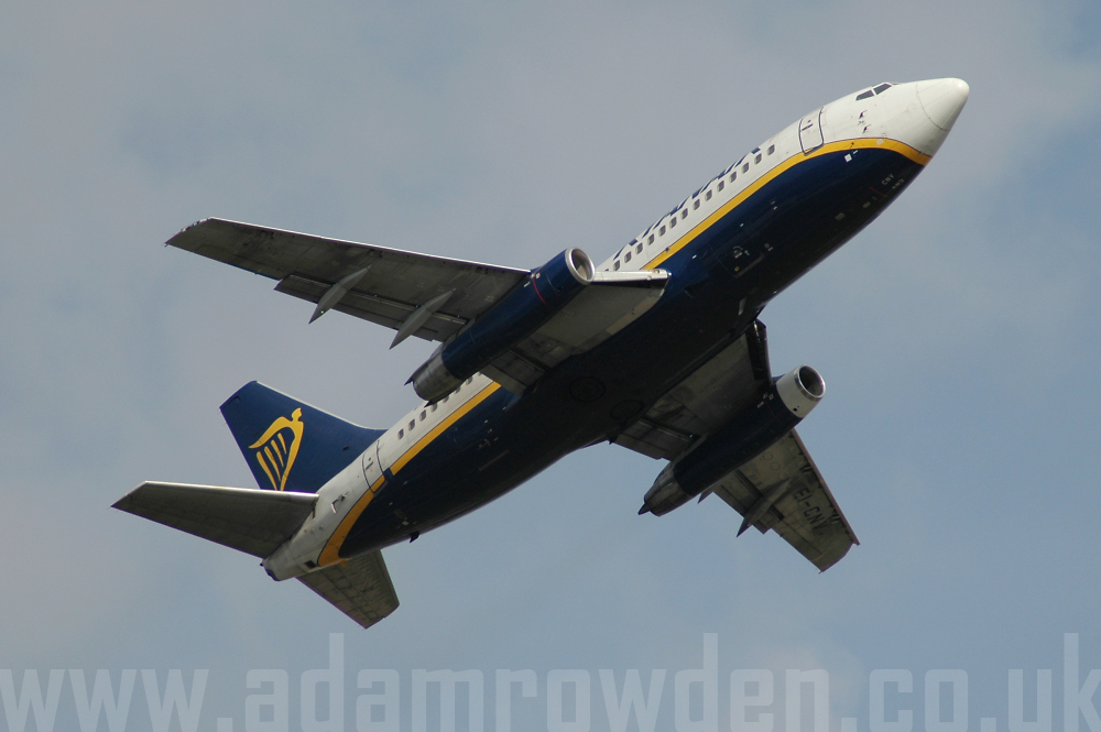 Photo of Ryanair Boeing 737-230A EI-CNV (cn 22128/752) at London Stansted Airport (STN) on 15th August 2005