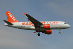 Photo of easyJet Airbus A319-111 G-EZIK (cn 2481) at London Stansted Airport (STN) on 15th August 2005