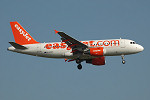 Photo of easyJet Airbus A319-111 G-EZEP (cn 2251) at London Stansted Airport (STN) on 17th August 2005