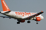 Photo of easyJet Airbus A319-111 G-EZIP (cn 2514) at London Stansted Airport (STN) on 17th August 2005