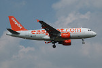 Photo of easyJet Airbus A319-111 G-EZIM (cn 2495) at London Stansted Airport (STN) on 18th August 2005
