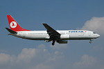Photo of Turkish Airlines Boeing 737-8F2 TC-JFK (cn 29773/259) at London Stansted Airport (STN) on 18th August 2005