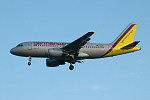 Photo of Germanwings Airbus A319-112 D-AKNI (cn 1016) at London Stansted Airport (STN) on 26th August 2005