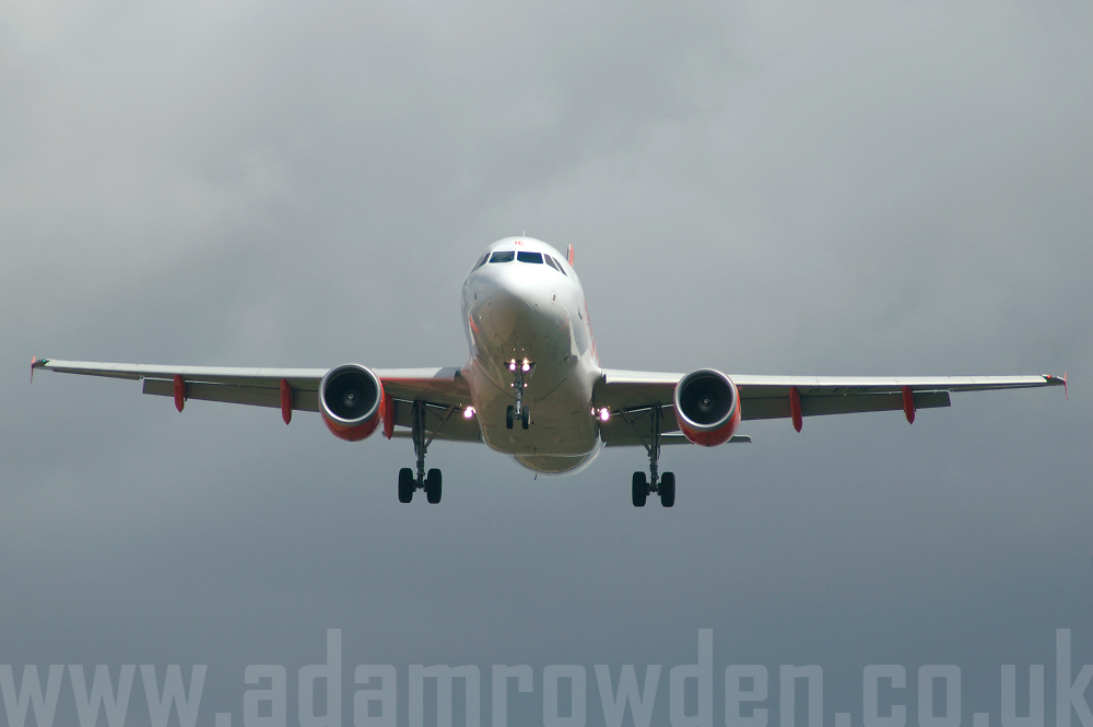 Photo of easyJet Airbus A319-111 G-EZIE (cn 2446) at London Stansted Airport (STN) on 26th August 2005