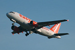 Photo of easyJet Airbus A319-111 G-EZIG (cn 2460) at London Stansted Airport (STN) on 12th September 2005