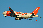 Photo of easyJet Airbus A319-111 G-EZSM (cn 2062) at London Stansted Airport (STN) on 12th September 2005