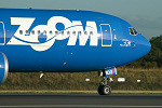 Photo of Zoom Airlines Boeing 767-328ER C-GZMM (cn 27136/497) at Manchester Ringway Airport (MAN) on 16th September 2005
