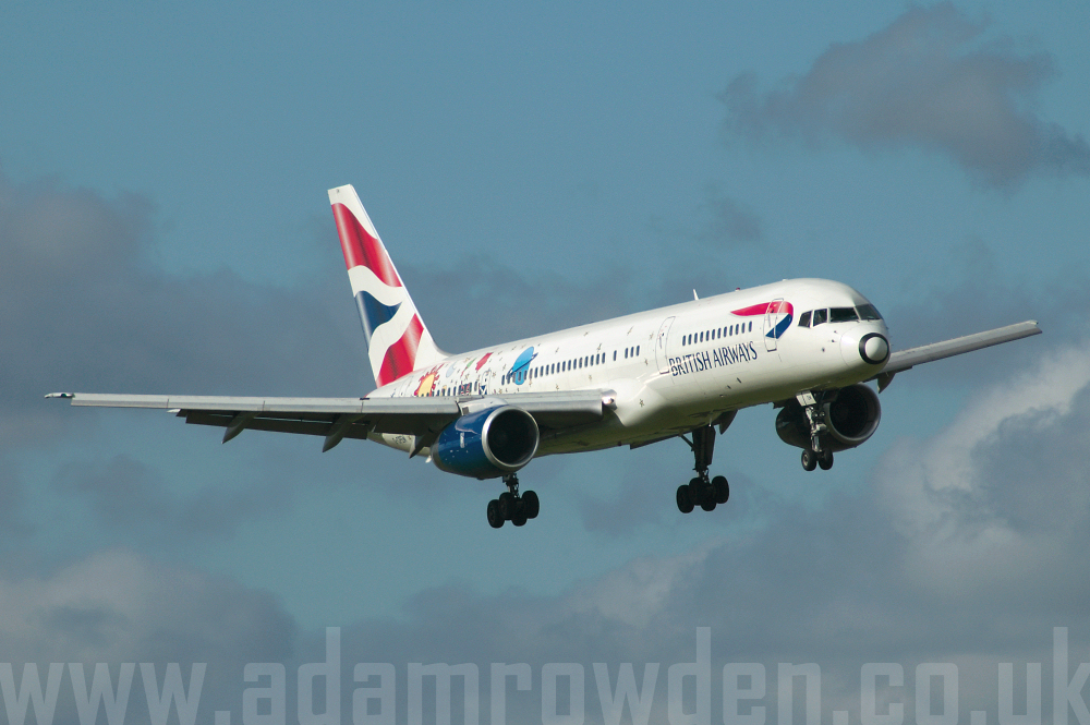 Photo of British Airways Boeing 757-236 G-CPEM (cn 28665/747) at Manchester Ringway Airport (MAN) on 16th September 2005