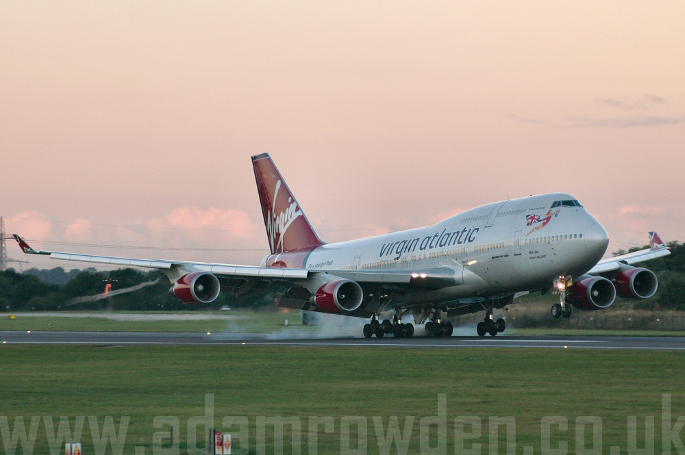 Photo of Virgin Atlantic Airways Boeing 747-443 G-VLIP (cn 32338/1274) at Manchester Ringway Airport (MAN) on 16th September 2005