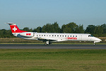 Photo of SWISS International Air Lines Embraer ERJ-145LU HB-JAY (cn 14500601) at Manchester Ringway Airport (MAN) on 16th September 2005