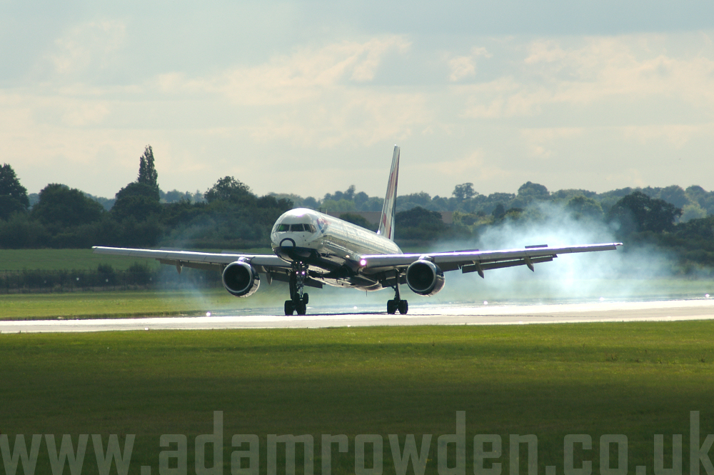 Photo of British Airways Boeing 757-200 UNKNOWN (cn UNKNOWN) at Manchester Ringway Airport (MAN) on 16th September 2005