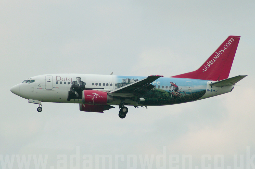 Photo of bmi baby Boeing 737-59D G-BVKD (cn 26421/2279) at East Midlands International Airport (EMA) on 19th September 2005