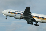Photo of Singapore Airlines Boeing 777-212ER 9V-SVE (cn 30870/374) at Manchester Ringway Airport (MAN) on 19th September 2005