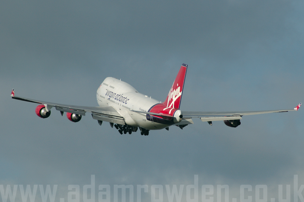 Photo of Virgin Atlantic Airways Boeing 747-443 G-VLIP (cn 32338/1274) at Manchester Ringway Airport (MAN) on 19th September 2005