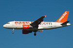 Photo of easyJet Airbus A319-111 G-EZIK (cn 2481) at London Stansted Airport (STN) on 29th September 2005