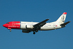 Photo of Norwegian Air Shuttle Boeing 737-36N LN-KKJ (cn 28564/2936) at London Stansted Airport (STN) on 29th September 2005