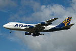 Photo of Atlas Air Boeing 747-243B(SF) N517MC (cn 23300/613) at London Stansted Airport (STN) on 29th September 2005