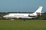 Photo of NetJets Europe Dassault Falcon 2000 CS-DNS (cn 139) at London Luton Airport (LTN) on 1st October 2005