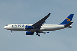 Photo of Cyprus Airways Airbus A330-243 5B-DBT (cn 526) at London Stansted Airport (STN) on 9th October 2005