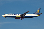 Photo of Ryanair Boeing 737-8AS EI-DCO (cn 33809/1592) at London Stansted Airport (STN) on 27th October 2005