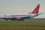 Photo of Flyglobespan Boeing 737-683 G-CDRB (cn 28305/290) at London Stansted Airport (STN) on 2nd January 2006