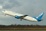 Photo of Excel Airways Boeing 737-86N G-XLAF (cn 29883/1083) at Manchester Ringway Airport (MAN) on 20th January 2006