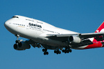 Photo of Qantas Boeing 747-438 VH-OJS (cn 25564/1230) at London Heathrow Airport (LHR) on 9th February 2006