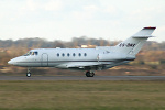Photo of NetJets Europe Hawker Beechcraft Hawker 800XP CS-DNX (cn 258511) at London Luton Airport (LTN) on 4th March 2006