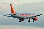 Photo of easyJet Airbus A319-111 G-EZMH (cn 2053) at London Stansted Airport (STN) on 5th March 2006