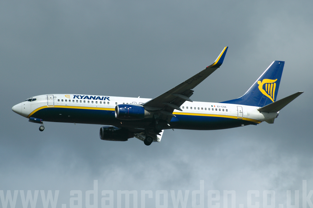 Photo of Ryanair Boeing 737-8AS(W) EI-CSE (cn 29920/362) at London Stansted Airport (STN) on 28th March 2006