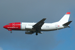 Photo of Norwegian Air Shuttle Boeing 737-3L9 LN-KKU (cn 27337/2594) at London Stansted Airport (STN) on 28th March 2006