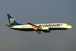 Photo of Ryanair Boeing 737-8AS EI-DHY (cn 33824/1826) at London Stansted Airport (STN) on 2nd April 2006