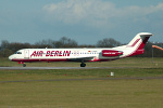 Photo of Air Berlin (opb Germania) Fokker 100 D-AGPK (cn 11313) at London Stansted Airport (STN) on 4th April 2006