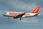 Photo of easyJet Airbus A319-111 G-EZAG (cn 2727) at London Stansted Airport (STN) on 4th April 2006