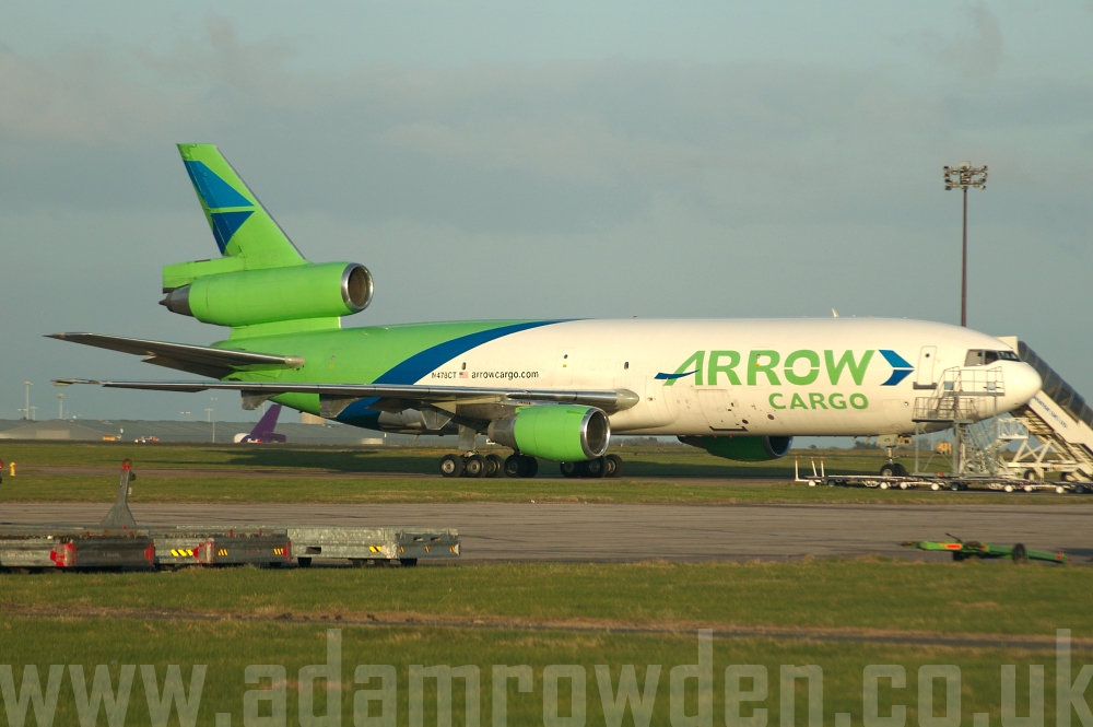 Photo of Arrow Cargo Douglas DC-10-30F N478CT (cn 47819/314) at London Stansted Airport (STN) on 4th April 2006