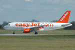 Photo of easyJet Airbus A319-111 G-EZAA (cn 2677) at London Stansted Airport (STN) on 5th April 2006