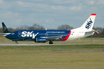 Photo of SkyEurope Airlines Boeing 737-33V HA-LKR (cn 29332/3072) at London Stansted Airport (STN) on 5th April 2006