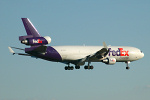 Photo of FedEx Express McDonnell Douglas MD-11F N624FE (cn 48443/458) at London Stansted Airport (STN) on 5th April 2006