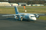 Photo of Flybe British Aerospace BAe 146-200 G-JEAJ (cn E2099) at Newcastle Woolsington Airport (NCL) on 19th April 2006