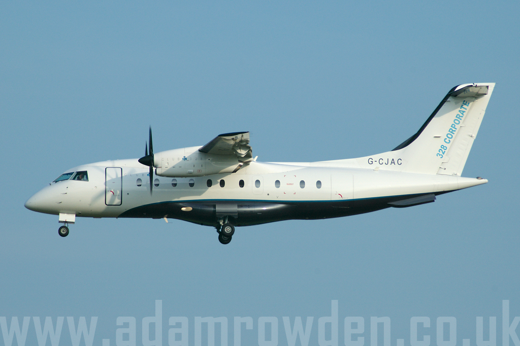 Photo of Club 328 Dornier 328-100 G-CJAC (cn 3095) at London Stansted Airport (STN) on 6th June 2006