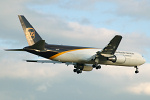 Photo of United Parcel Service Boeing 767-34AF N325UP (cn 27751/726) at London Stansted Airport (STN) on 21st June 2006