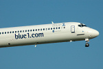 Photo of Blue1 McDonnell Douglas MD-90-30 OH-BLC (cn 53459/2141) at London Stansted Airport (STN) on 12th July 2006
