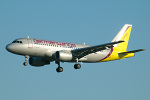 Photo of Germanwings Airbus A319-112 D-AKNG (cn 654) at London Stansted Airport (STN) on 18th July 2006