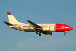 Photo of Norwegian Air Shuttle Boeing 737-3Y0 LN-KKR (cn 24256/1629) at London Stansted Airport (STN) on 17th August 2006
