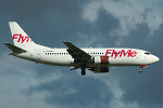 Photo of FlyMe Boeing 737-33A SE-RCR (cn 24026/1595) at London Stansted Airport (STN) on 17th August 2006