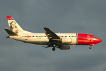 Photo of Norwegian Air Shuttle Boeing 737-3M8 LN-KKP (cn 25040/2017) at London Stansted Airport (STN) on 22nd August 2006