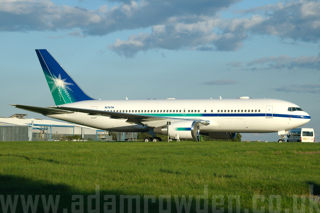 Photo of Untitled (Saudi Aramco Aviation) Boeing 767-2AXER N767A (cn 33685/903) at London Stansted Airport (STN) on 28th August 2006