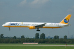 Photo of Condor Boeing 757-330 D-ABOK (cn 29020/918) at Dusseldorf International Airport (DUS) on 6th September 2006