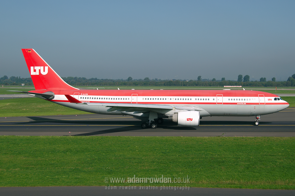 Photo of LTU Airbus A330-223 D-ALPB (cn 432) at Dusseldorf International Airport (DUS) on 6th September 2006