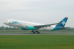 Photo of Star Airlines Airbus A330-243 F-GRSQ (cn 501) at Manchester Ringway Airport (MAN) on 12th September 2006